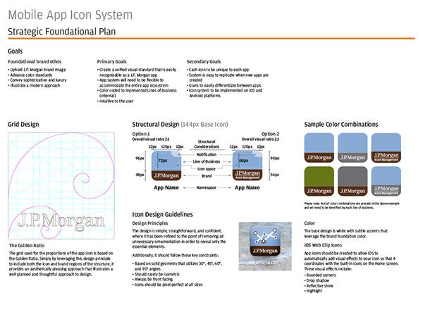 J.P. Morgan App Icon System 5