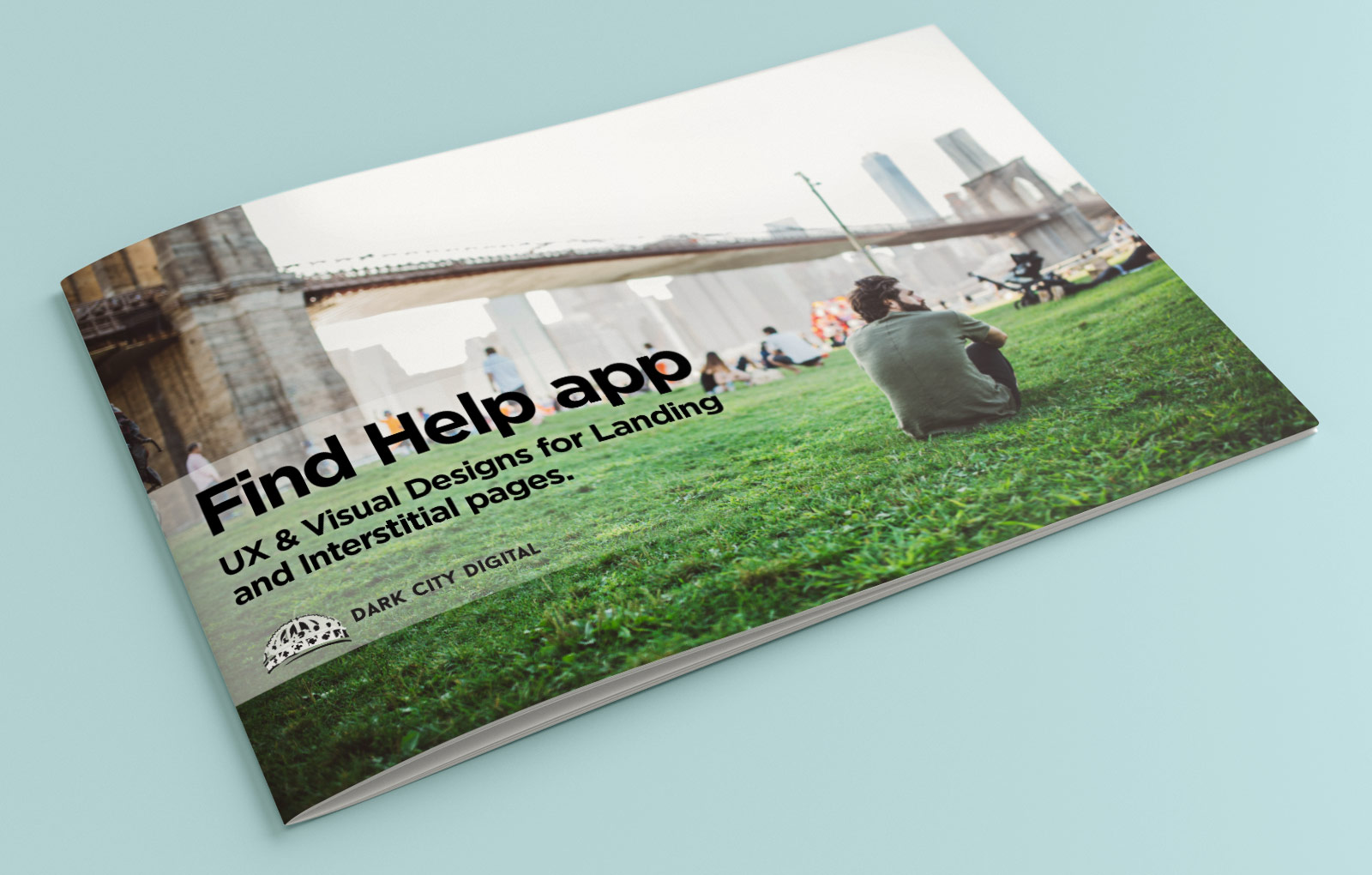 Catholic Charities Find Help Campaign Visual Strategy Cover