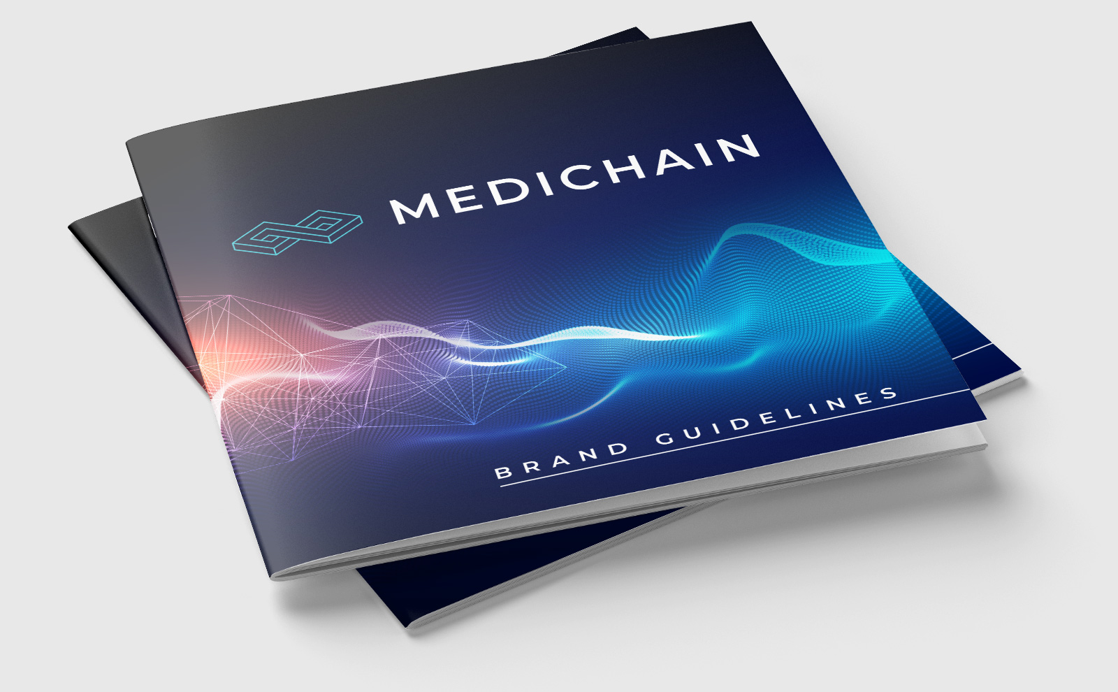 MediChain Brand Guidelines Print Cover